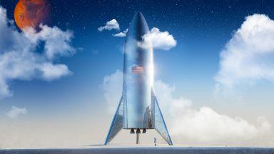 Тестовата версия на новата ракета на Илон Мъск е готова