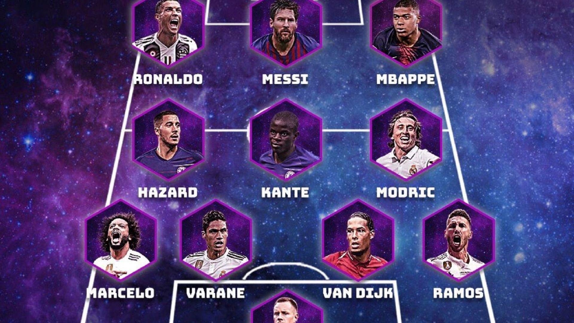 УЕФА обяви най-добрите 11 за 2018 г.