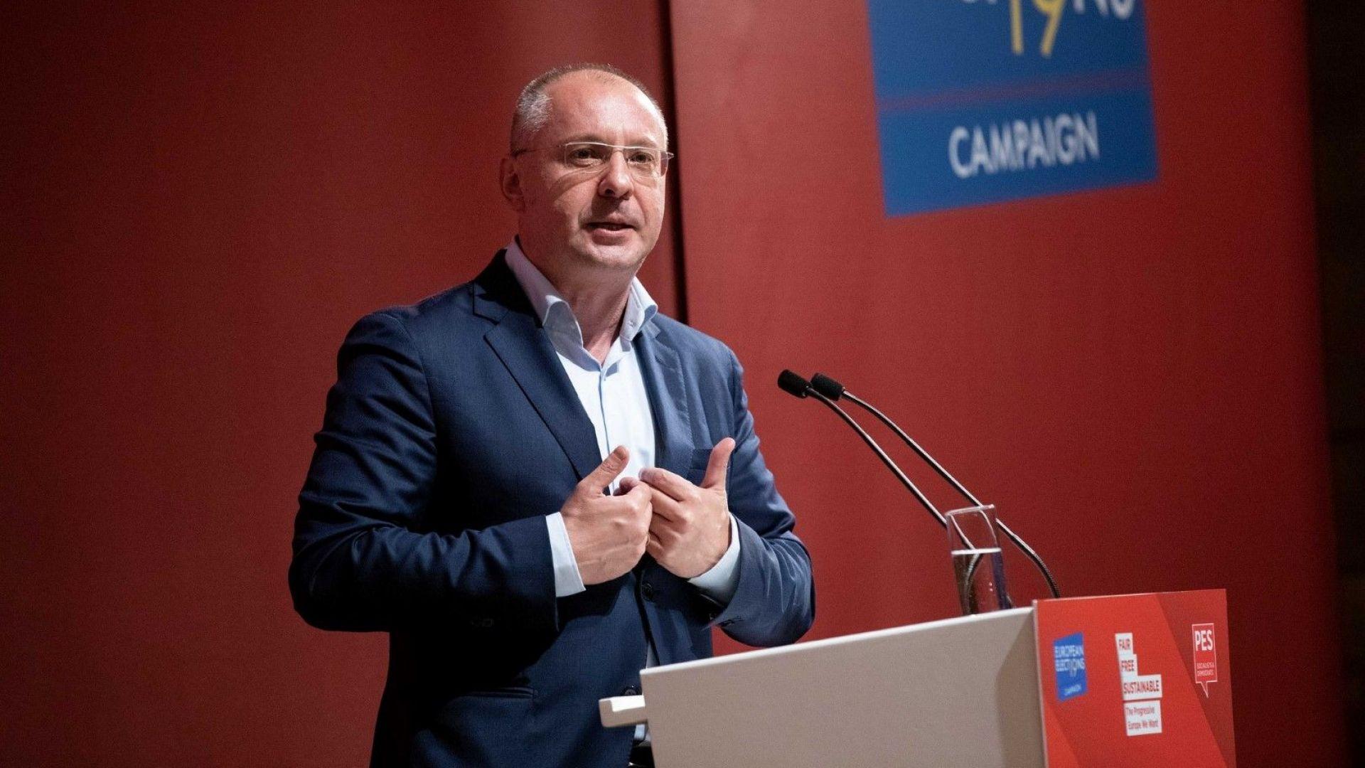 Президентът на ПЕС и ръководител на българските социалисти в ЕП