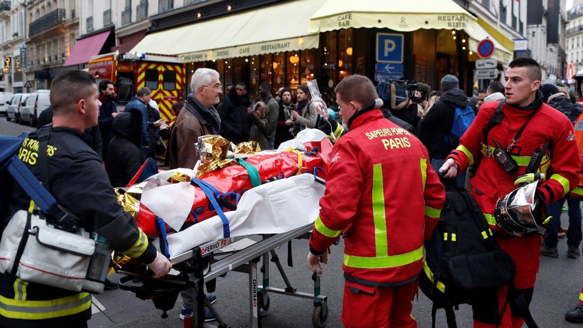 Четирима са загинали след експлозията, на място е премиерът на Франция