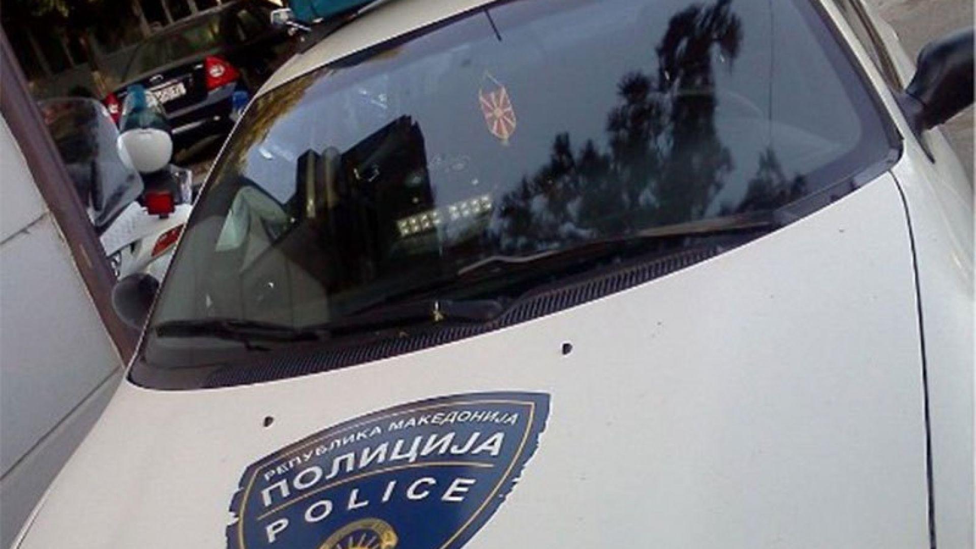 """Български """"Мерцедес"""" удари 4 паркирани коли в Македония"""