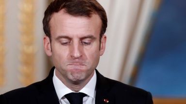 Макрон предупреди за възраждане на антисемитизма във Франция