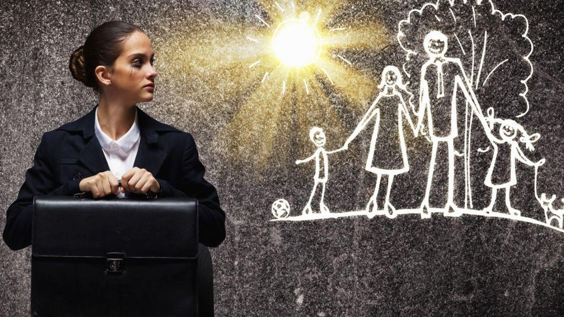 Как да се справим със стреса от връщане в офиса след майчинство