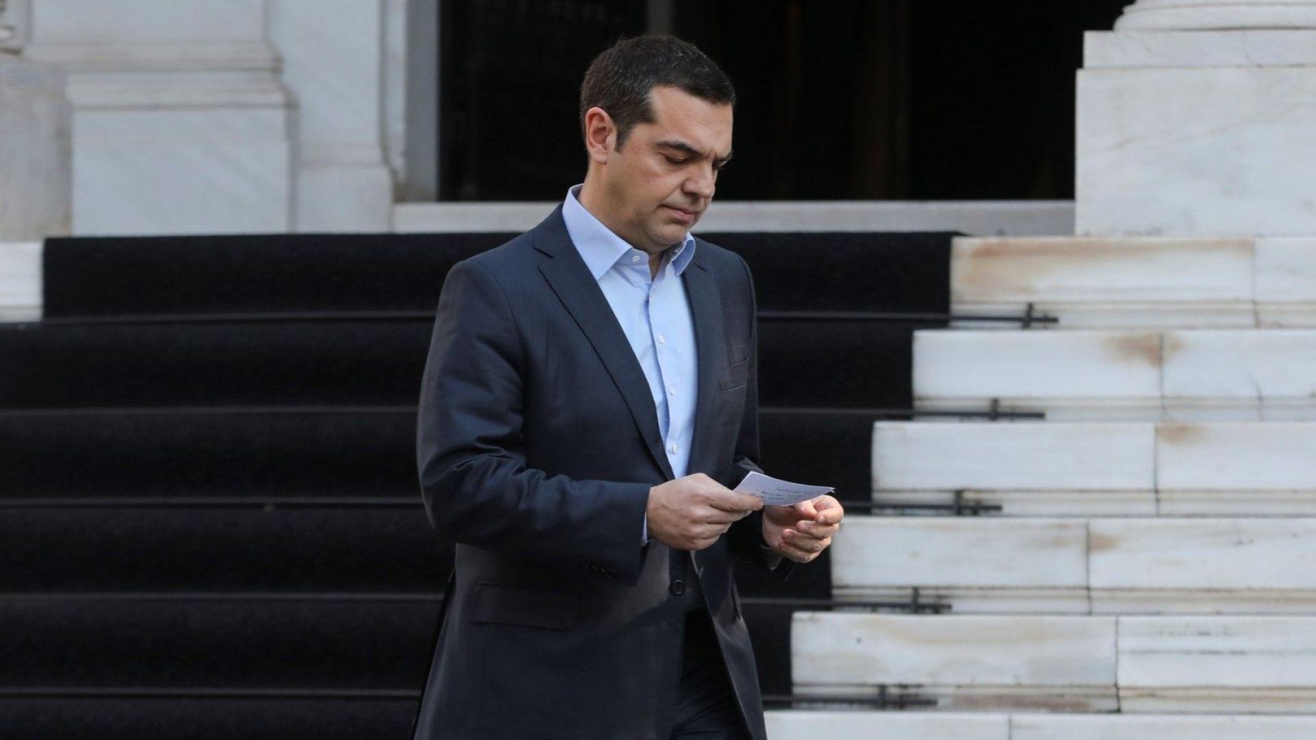 В Гърция започват дебатите по вота на доверие към правителството