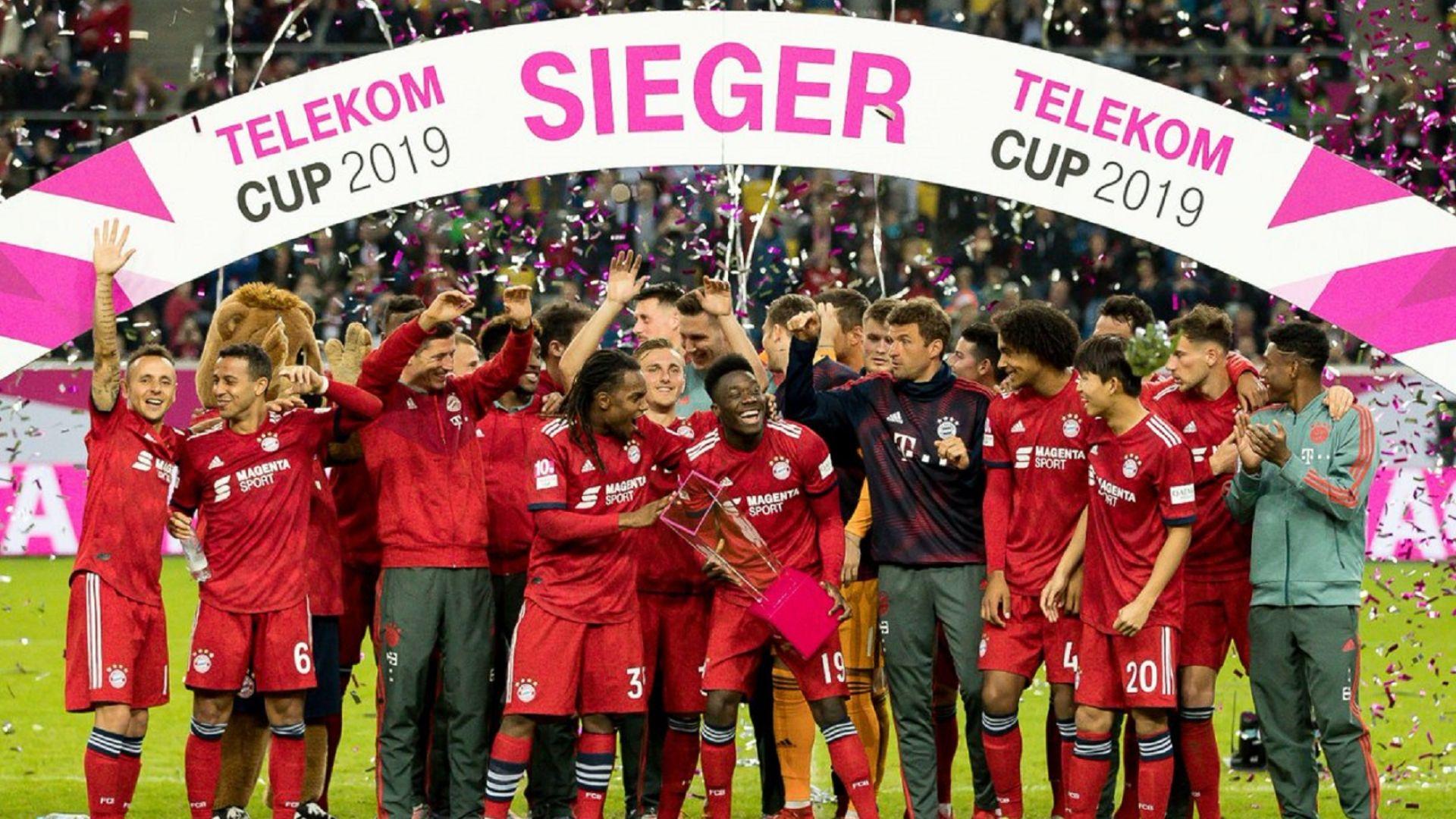 Байерн спечели купа без да вкара гол