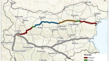 """Държавното """"Автомагистрали"""" ЕАД ще строи  134 км от АМ """"Хемус"""""""