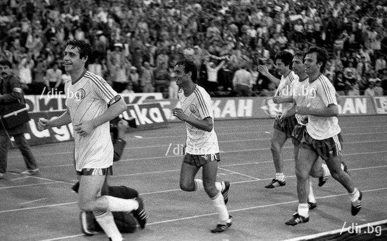 След България - Франция през 1985-а