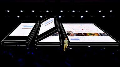 Сгъваемият Samsung дебютира след месец