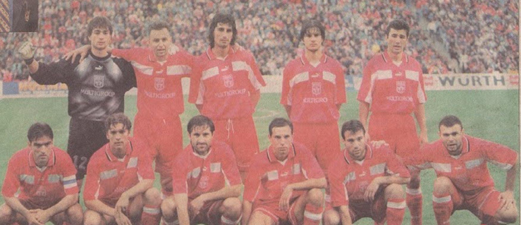 Младият Мартин в състава на ЦСКА