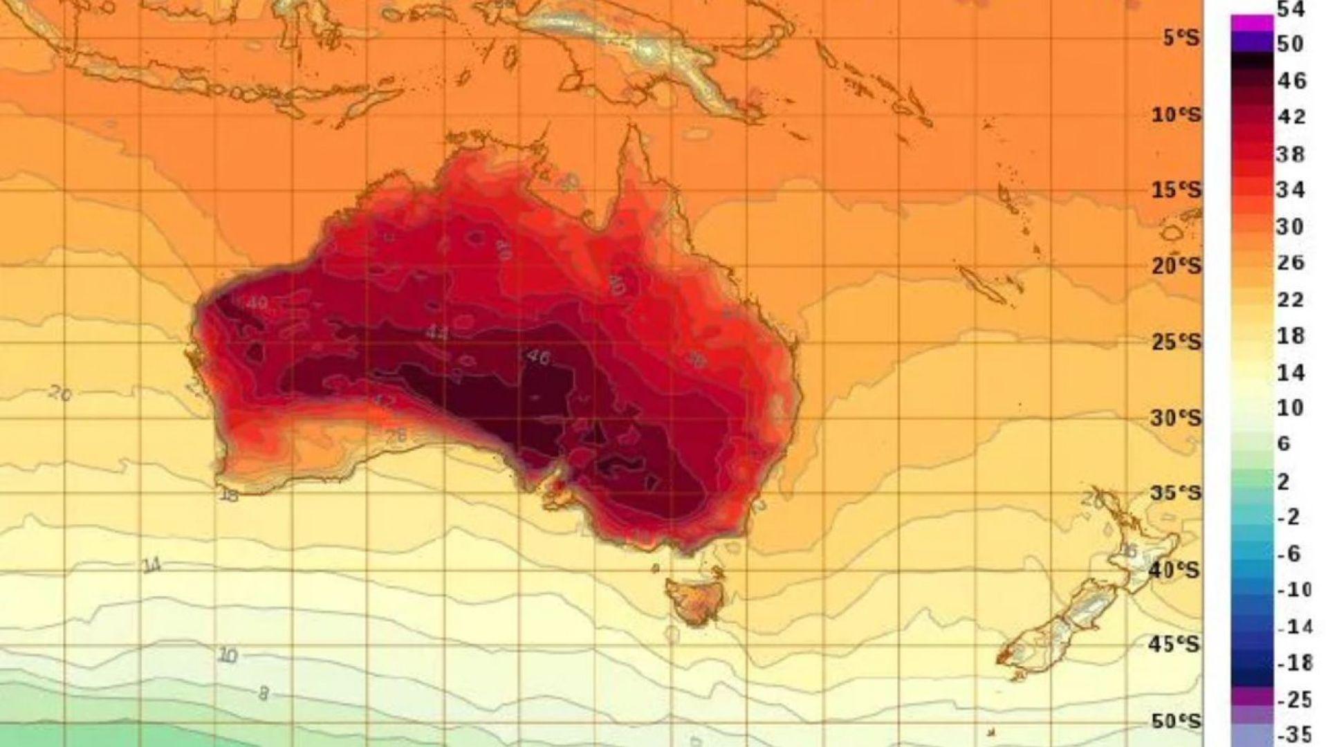 Климатичните промени са увеличили риска от горски пожари в Австралия