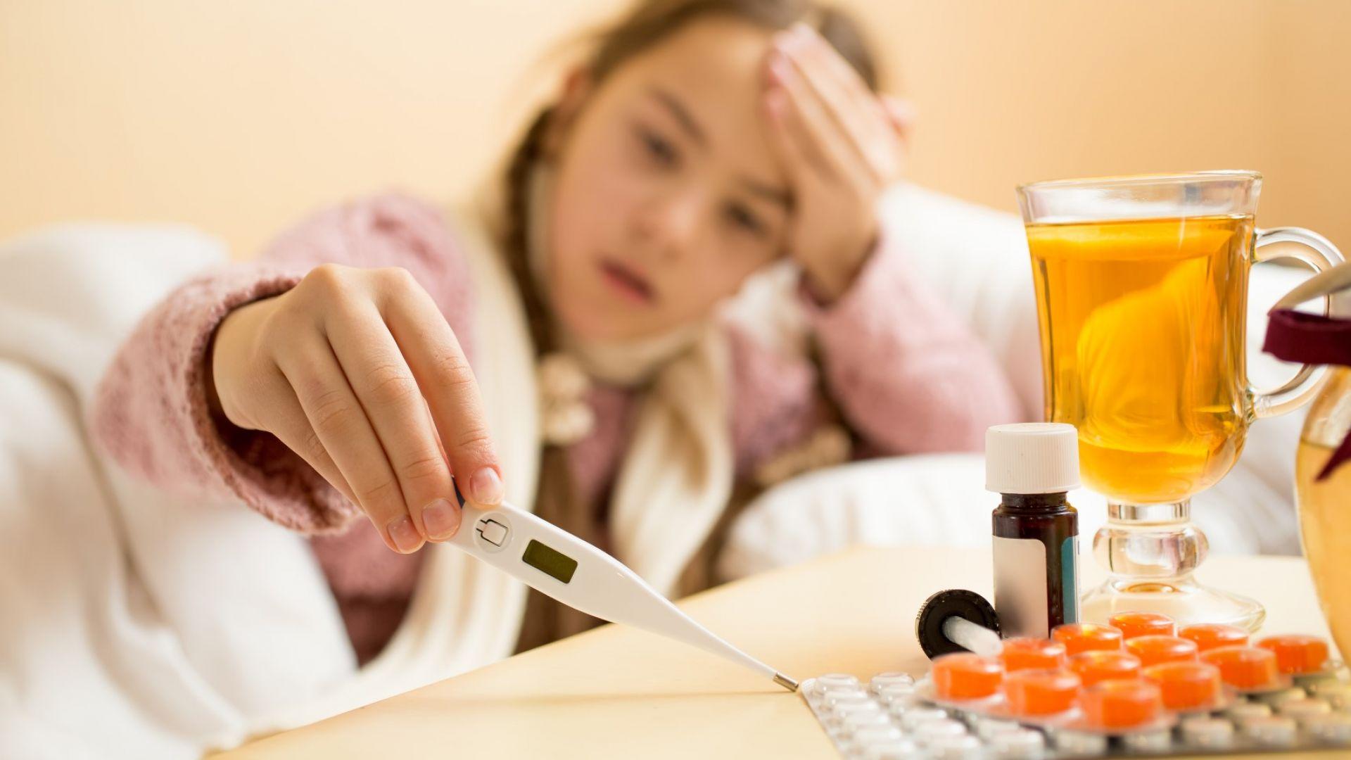 В Русе повечето болни от грип са деца