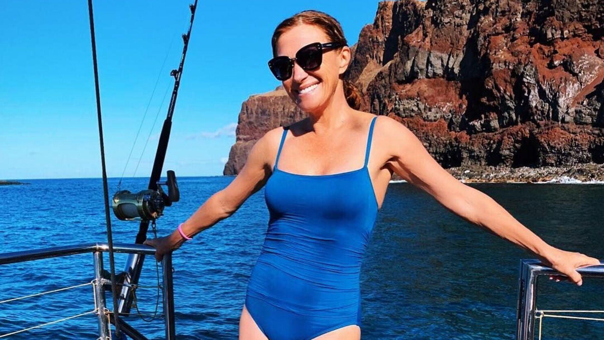 Джейн Сиймор ослепителна по бански и на 67