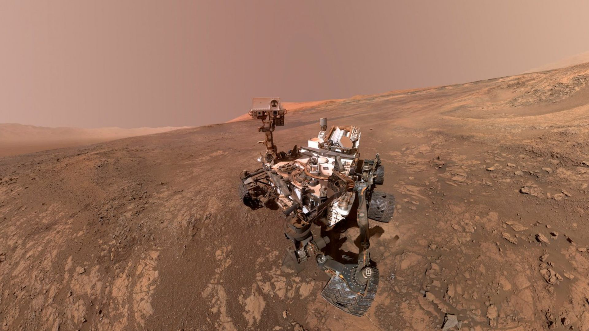 НАСА публикува панорамна снимка от Марс