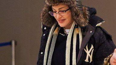 """Папараци заснеха """"застиналото"""" лице на Мадона"""