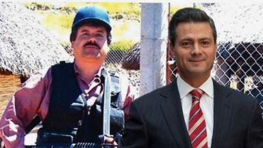 Ел Чапо платил подкуп от $100 млн. на бившия президент на Мексико Пеня Нието