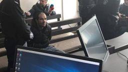 Мъжът, нападнал с брадва курсанти: Провокираха ме, много се ядосах (видео)