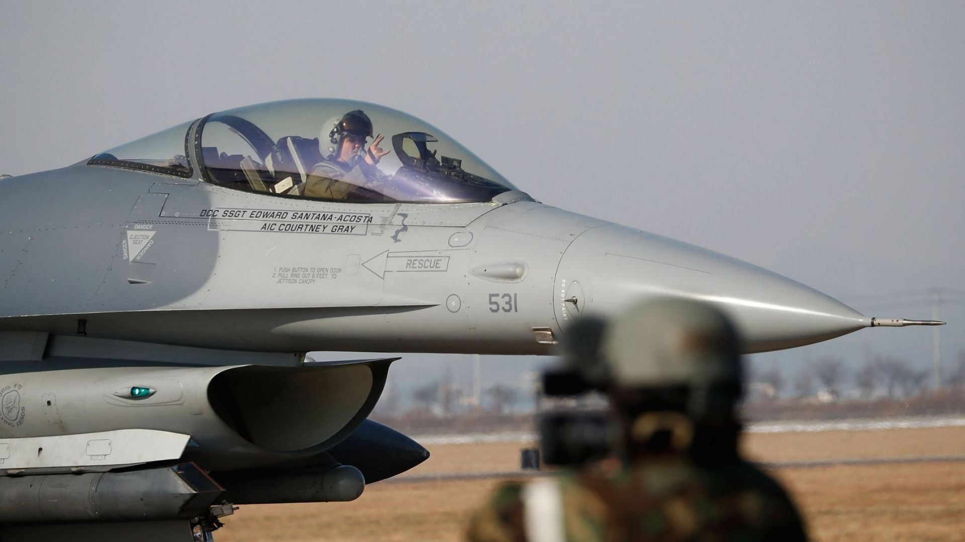 Парламентът разреши на кабинета да преговаря за F-16 със САЩ