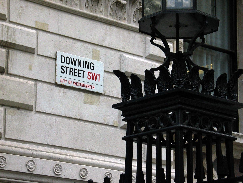 Даунинг стрийт  - центърът на британското правителство