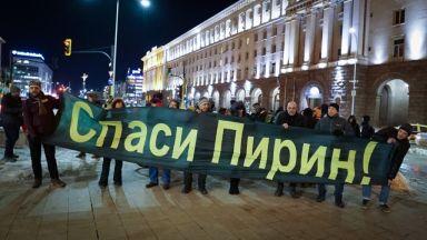 Зелените в ЕП доволни от решението за Пирин, протест пред МС