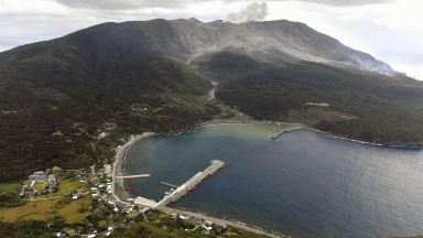 Вулкан изригна в Южна Япония (снимки)