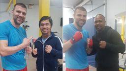 Тервел Пулев тренира с легенди във Вегас