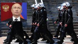 Сърбия посреща Путин с безпрецедентни мерки и всенародна любов