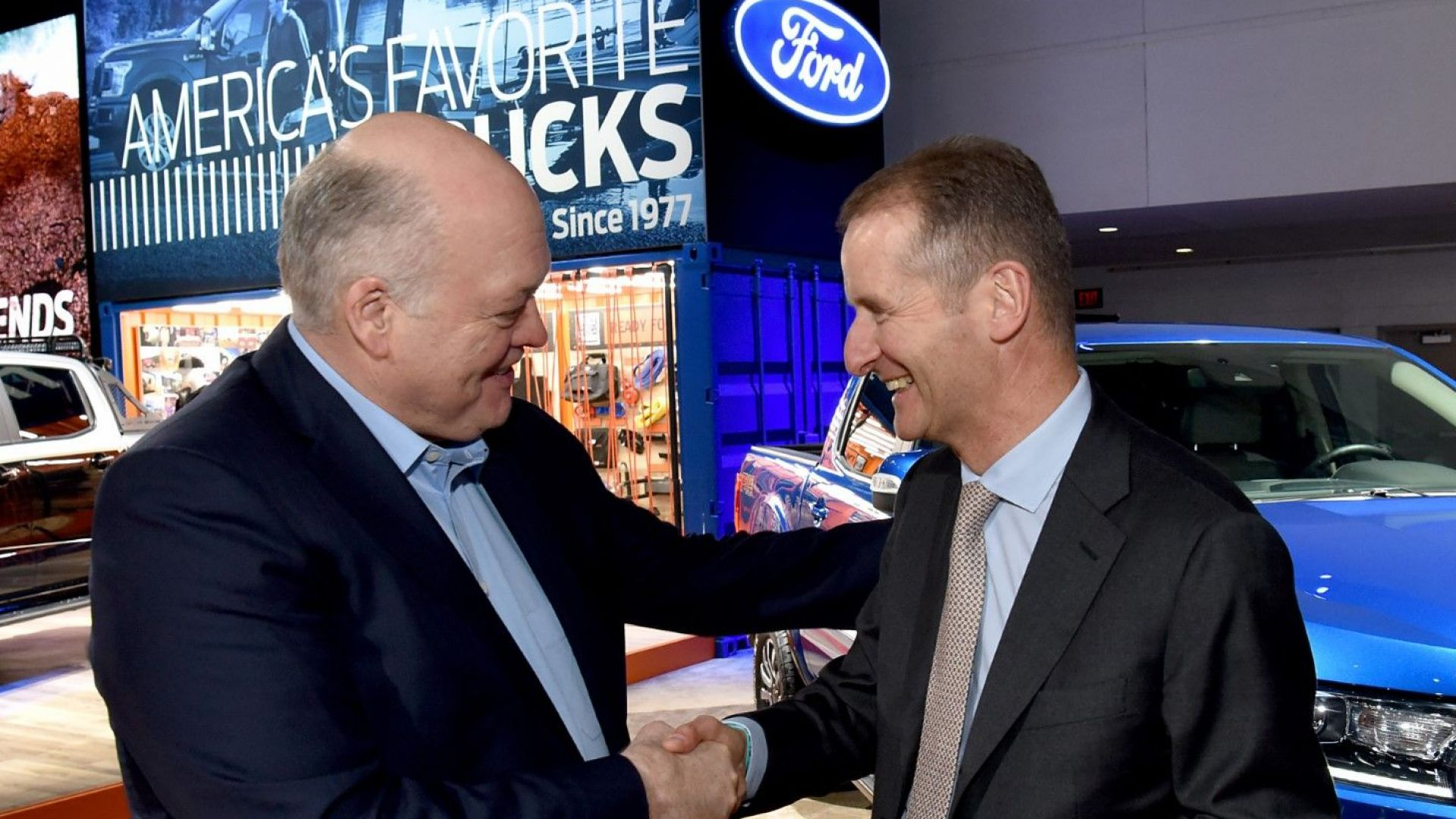 Volkswagen AG и Ford Motor Company сключиха глобален съюз