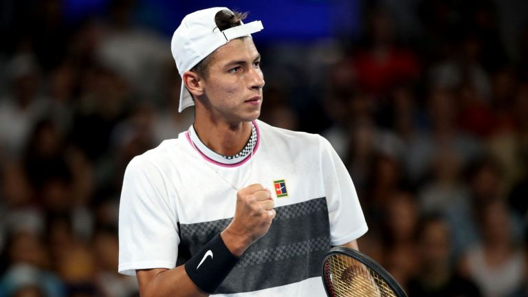 19-годишен хвърли бомбата на Australian Open