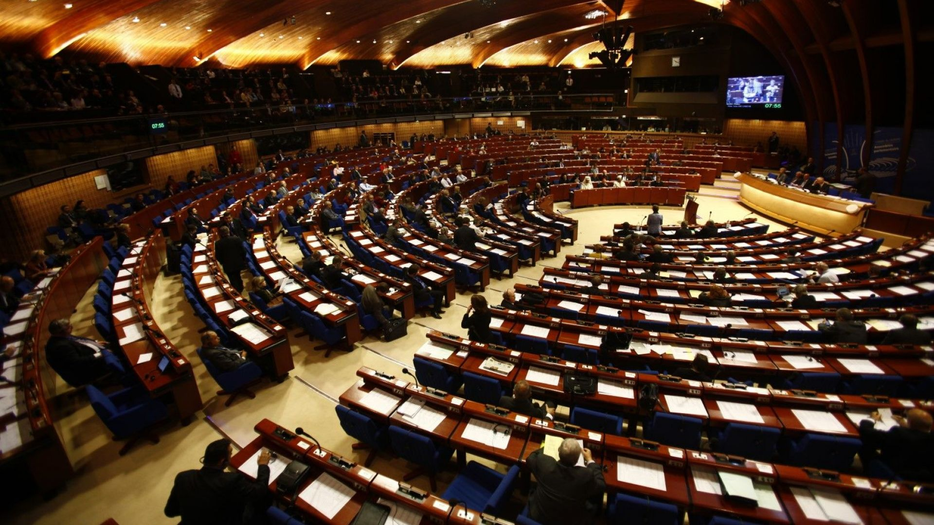 Съветът на Европа потвърди пълномощията на Русия, украинската делегация напусна