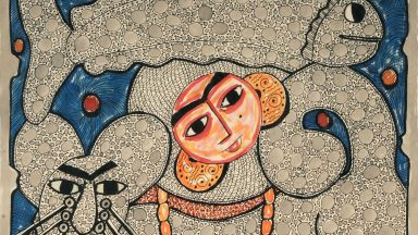 Египетски художник пази традицията жива с ръчно изработени бои