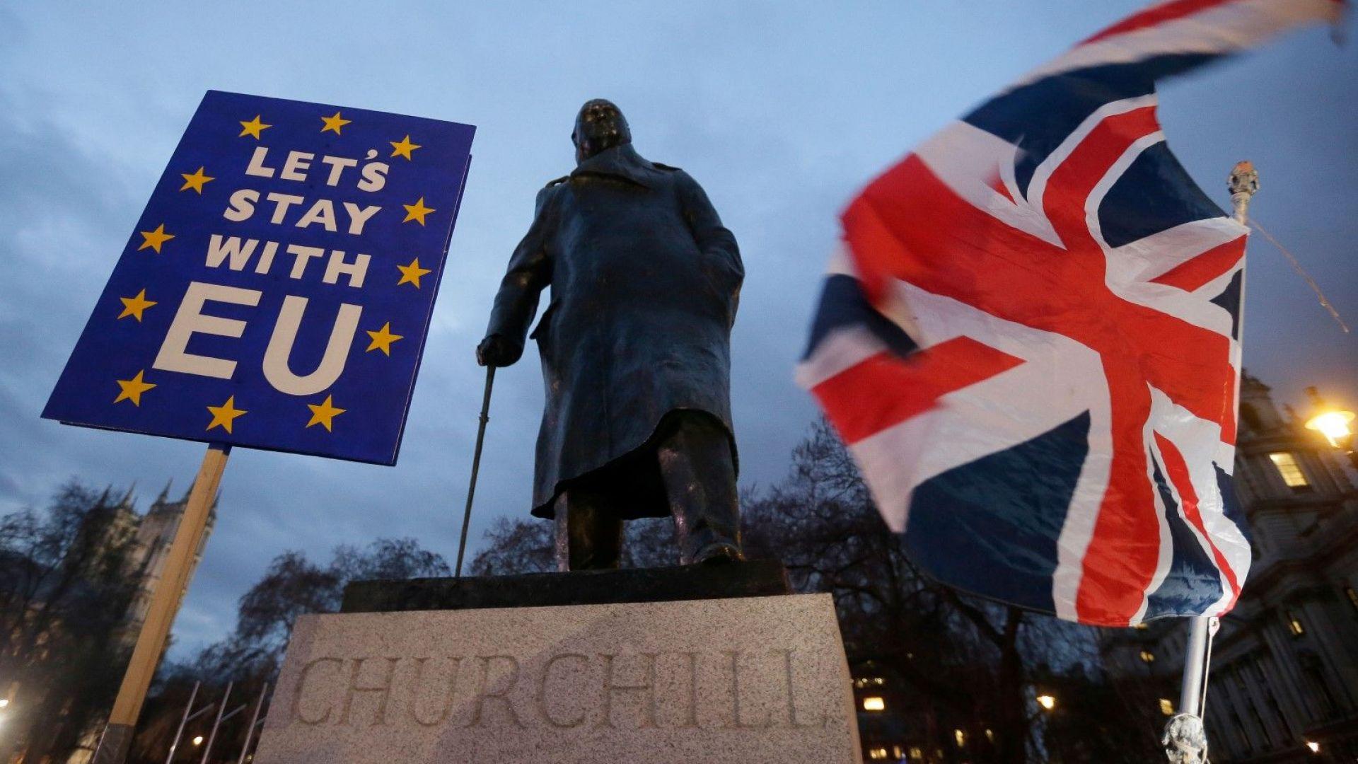 Британците стават все по-разделени по въпроса за Брекзит