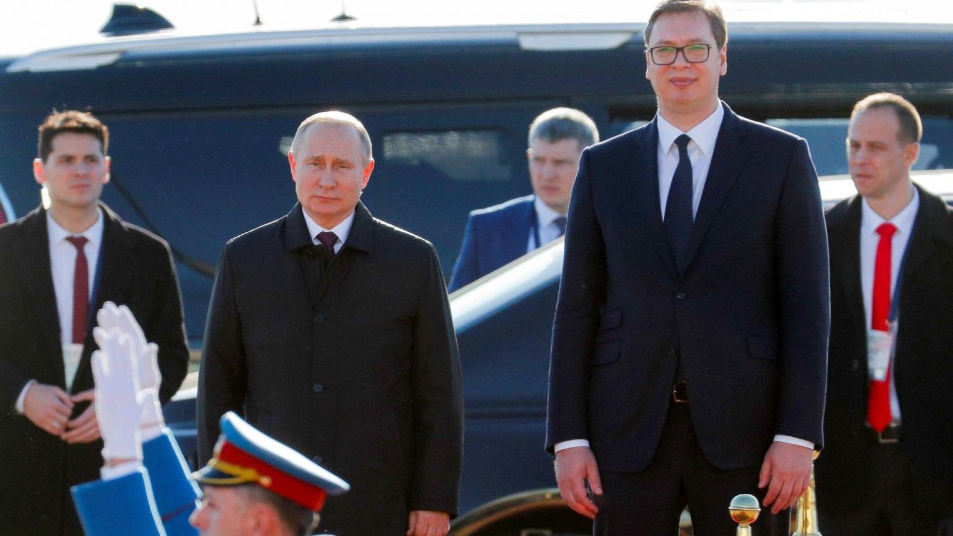 """Руската """"прегръдка"""" на Балканите не отслабва"""