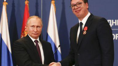 От Прищина: Русия ще признае Косово. От Белград: Путин не го каза