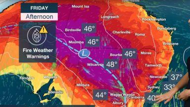 Австралия продължава да ври в рекордни горещини (видео)