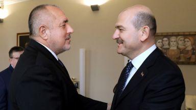 Борисов се срещна с министъра на вътрешните работи на Турция Сюлейман Сойлу