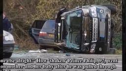 Свидетел: Чудодейно оцеляване на четирима след катастрофата с принц Филип