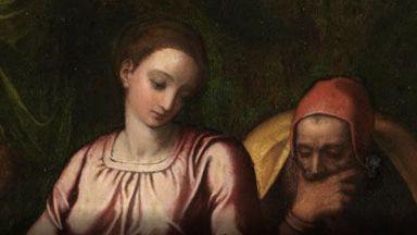 На Микеланджело ли е откраднатата картина в Белгия?