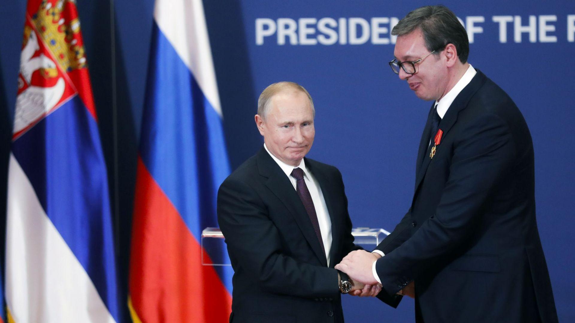 Споразумението между Русия и Сърбия за преминаването през сръбска територия