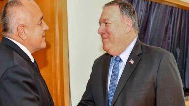 Срещата Борисов-Помпейо в Давос пропада, забавят се преговорите за F-16