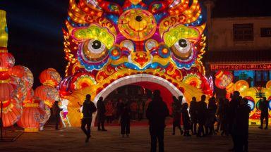 Феерия от цветове на Фестивала на фенерите в Китай (галерия)