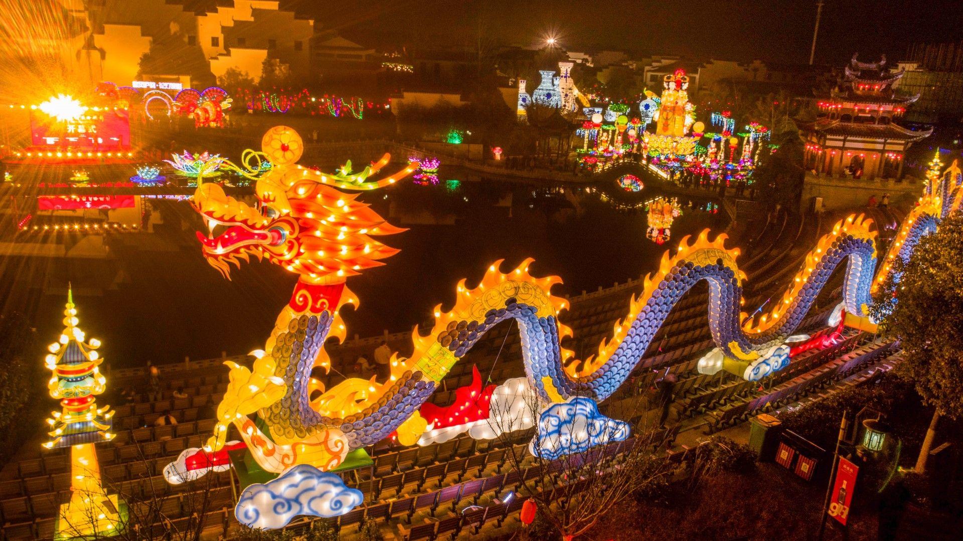 Фестивалът на фенерите е голям празник в Китай