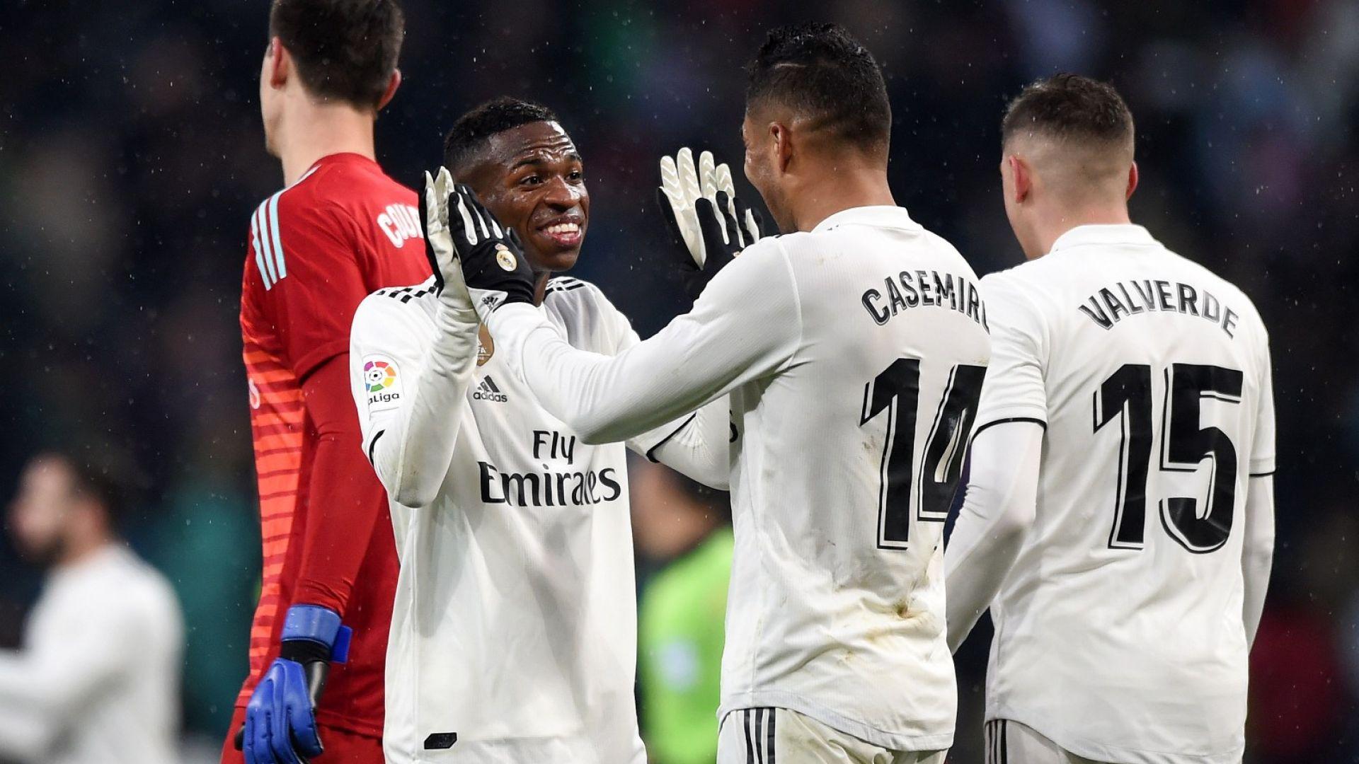 Голът на сезона тласна силен Реал към важен успех