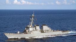 Руският военен флот следи US боен кораб, който влезе в Черно море