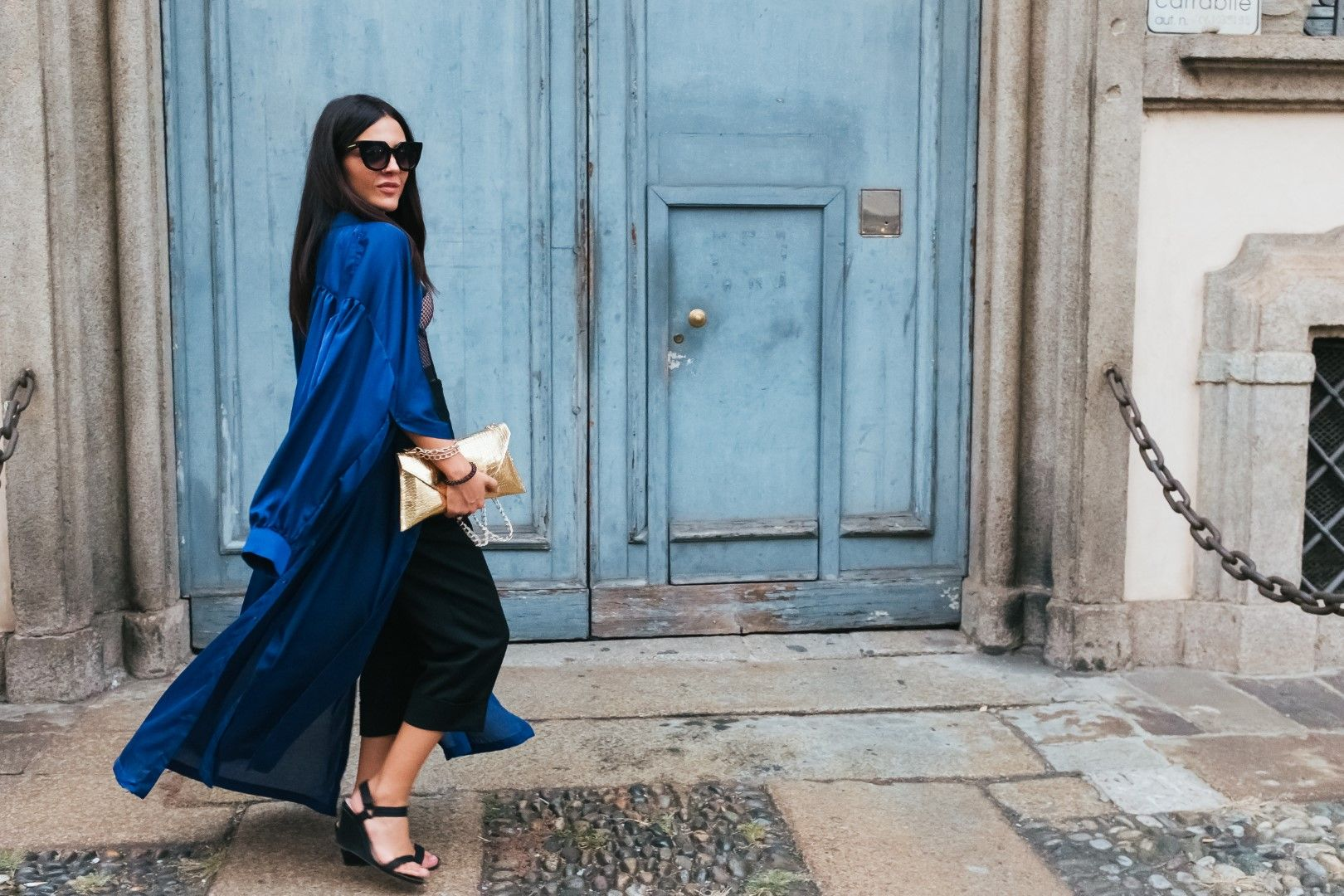 Глория Димитрова в Милано (Снимка: Carlo Lanteri)