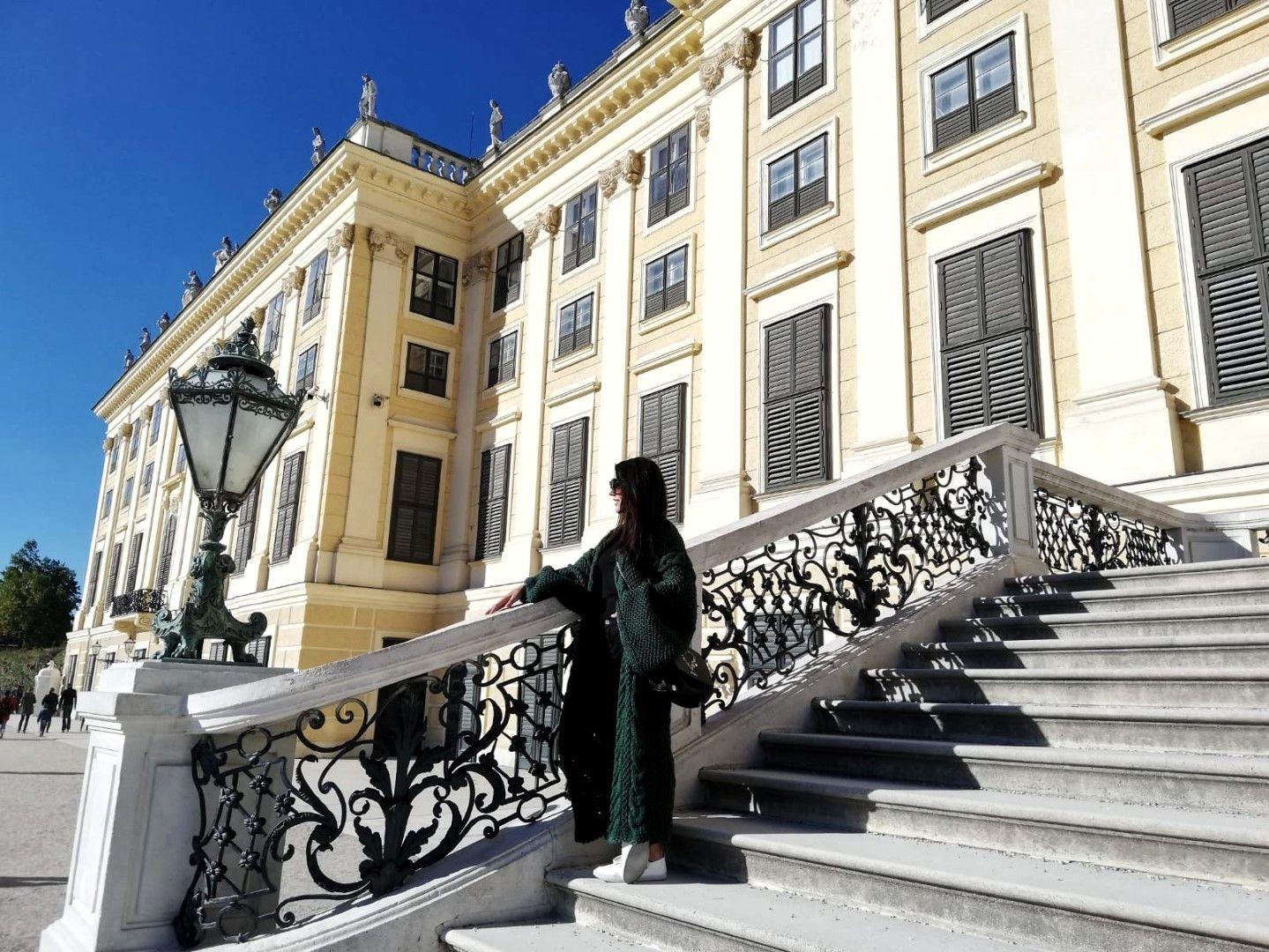 Глория Димитрова във Виена (Снимка: Личен архив)
