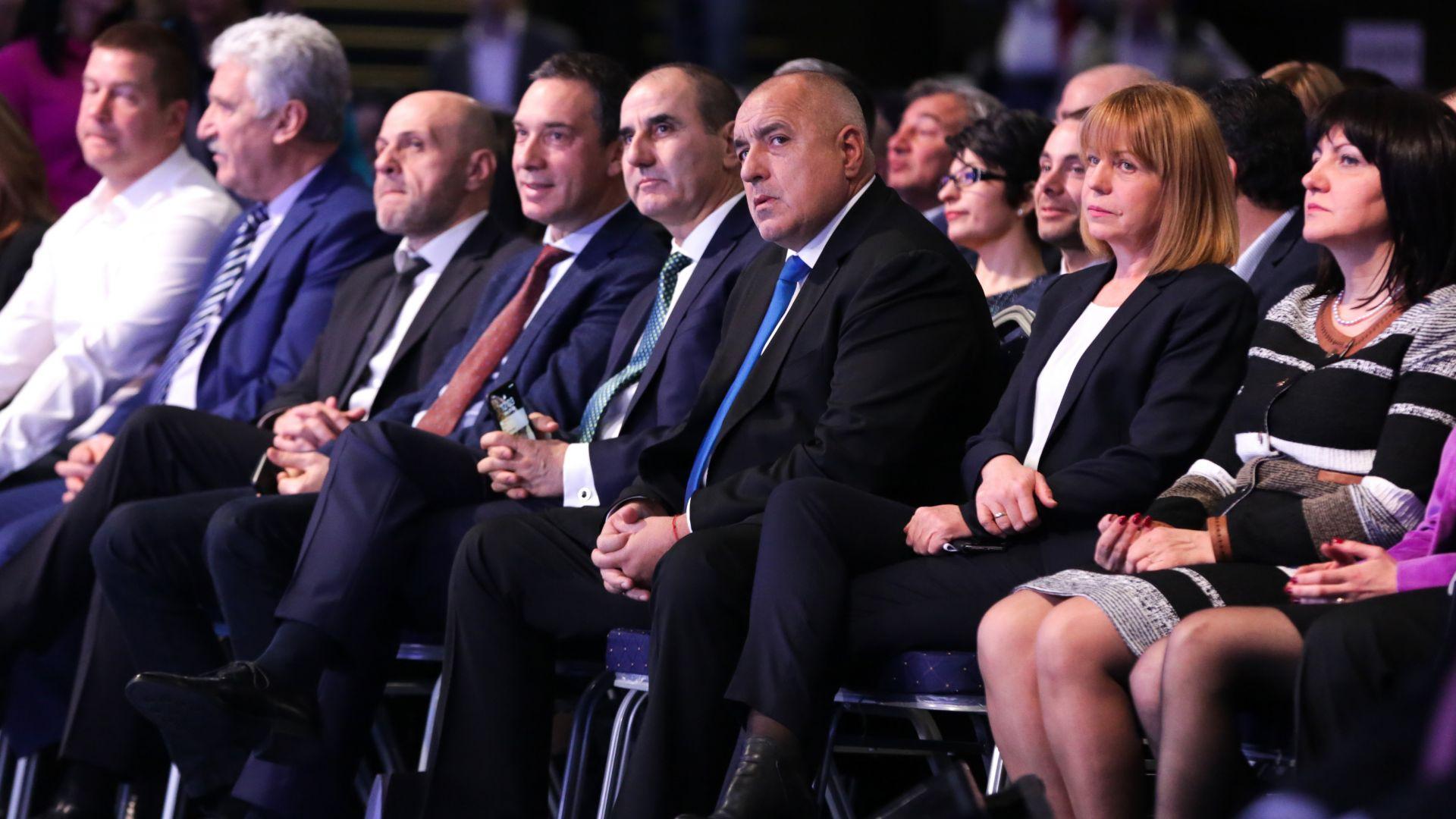 Национално събрание на ГЕРБ - гласуват оставката на Цветанов и увеличават членския внос