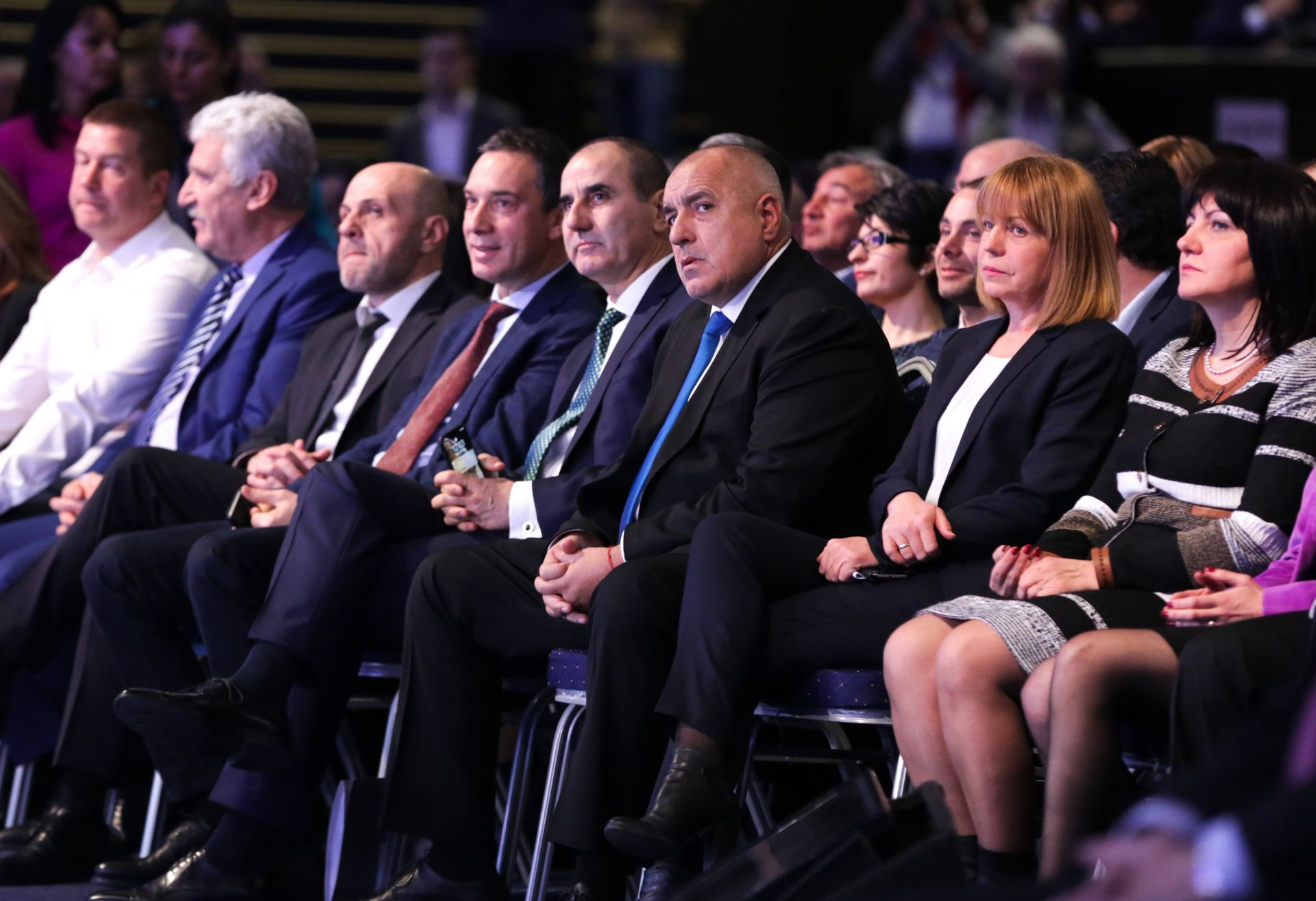 В зала 3 на НДК ПП ГЕРБ се събра на Национална предизборна среща