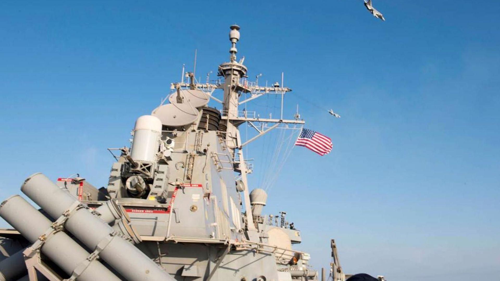 Посещенията на американски бойни кораби в Черно море нямат нищо