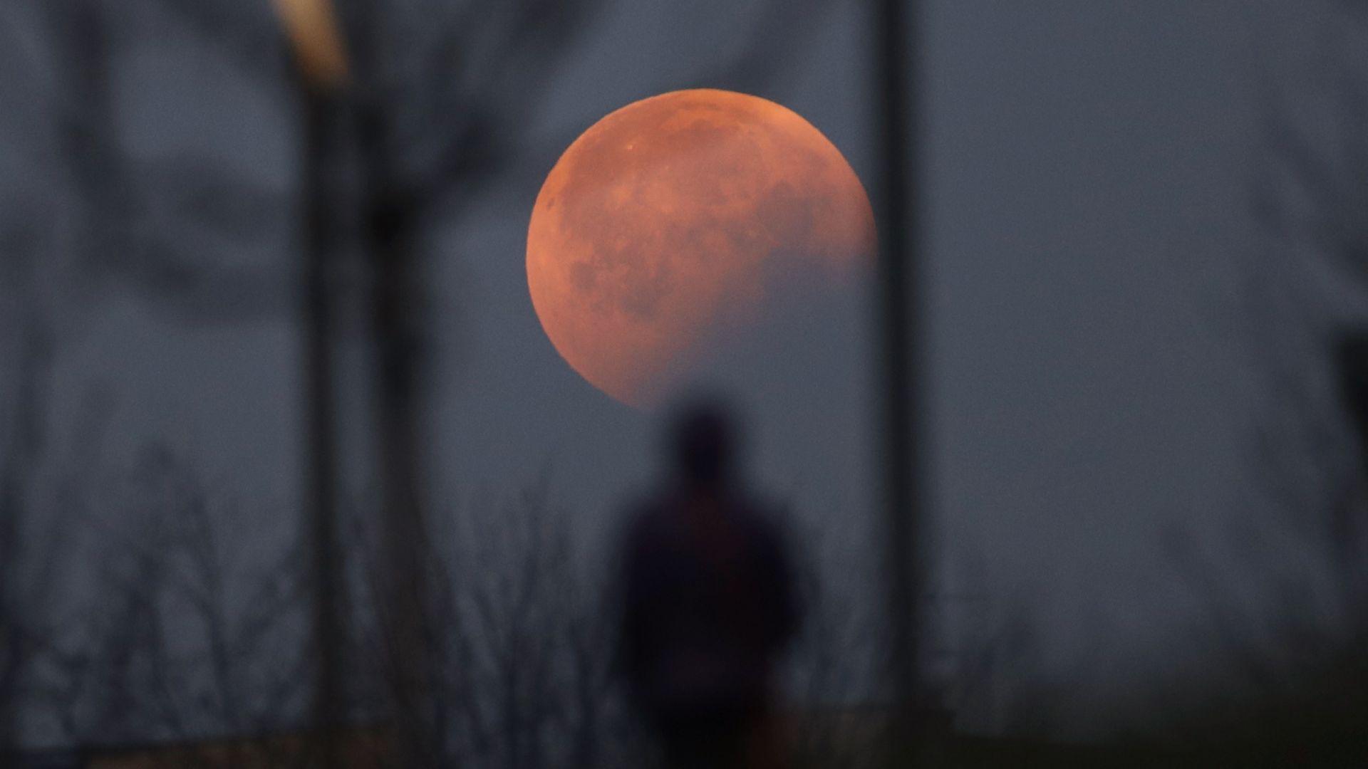 Предстои първото лунно затъмнение за годината