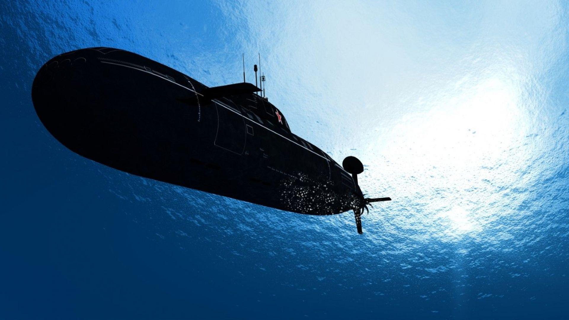 """Пожарът на руската ядрена подводница можел да доведе до """"глобална катастрофа"""""""